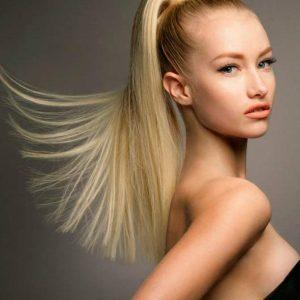 coada par natural rusesc blond
