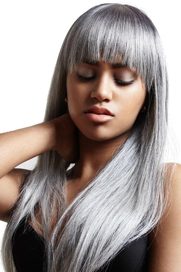 extensii blond intens ash microring