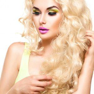 extensii par blond super deschis cheratina