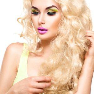 extensii blond super deschis microring