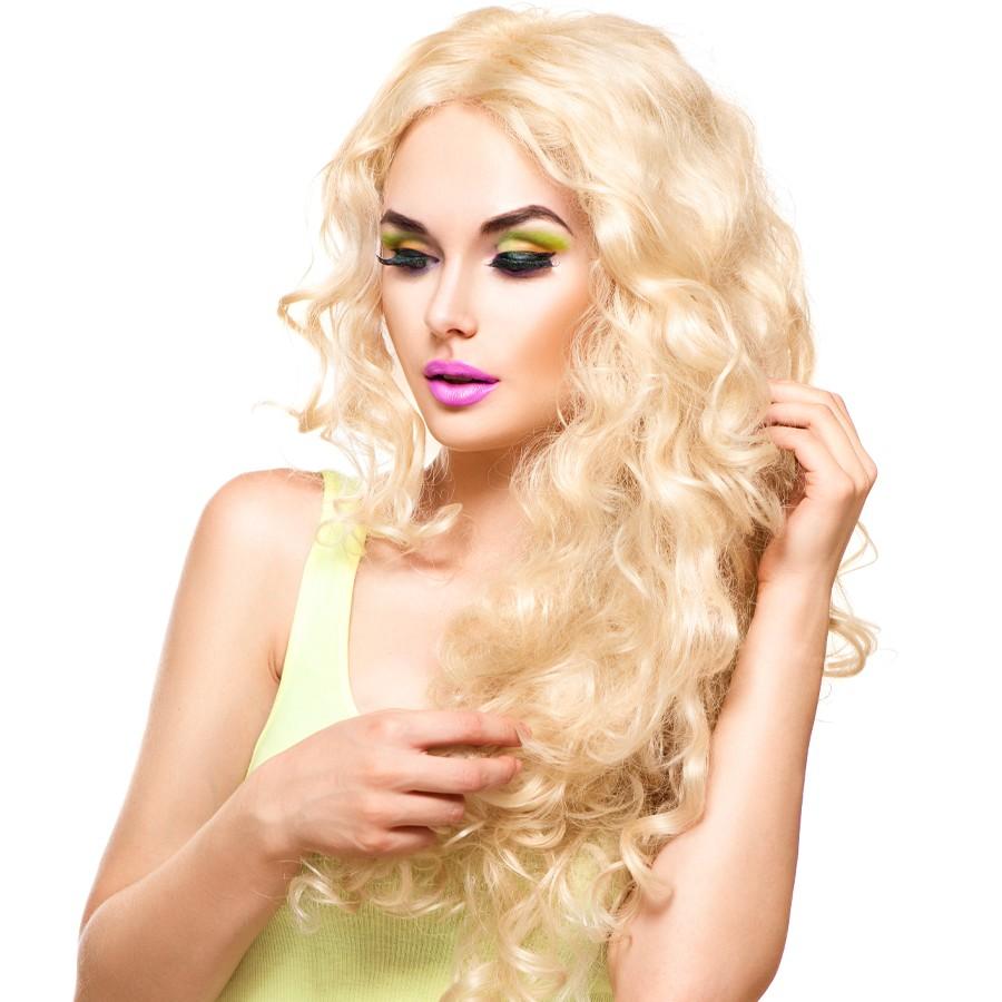 extensii blond deschis