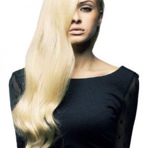 extensii par rusesc blond super deschis