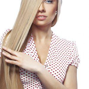 extensii par cusute blond cenusiu