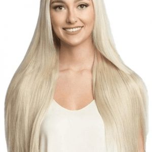 extensii naturale blonde tape on