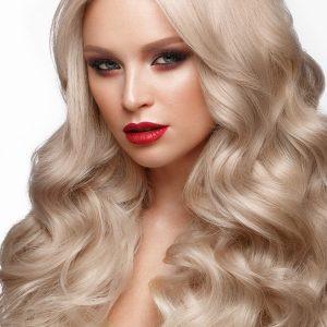 extensii pat natural tape on blond platinat